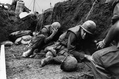 Vietnam War: Take cover. Never pleasant. Often lethal.
