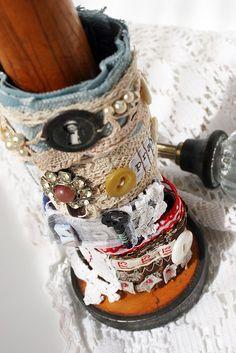 textile cuffs march 08 by Rebecca Sower, via Flickr