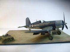 F4U-1 Tamiya 1/32 Modeler Wilb Pascal