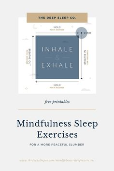 Sleep doesn't always come easy. So, we're sharing some mindful sleep activity printables. From breathing techniques to easy writing exercises, these exercises are great to unwind before bed. Chakra Meditation, Mindfulness Meditation, Meditation Music, Mindfulness For Beginners, High Stress Jobs, Sleep Exercise, How To Focus Better, Natural Sleep Remedies, Mindfulness Exercises