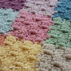 The Patchwork Heart: C2C JAYG (Corner to corner join as you go) Tutorial
