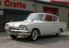 The Ford Consul Classic - a great car that was too short-lived. Cars Uk, All Cars, Ford Motor Company, Retro Cars, Vintage Cars, Roadster, Ford Classic Cars, Old Fords, Car Ford