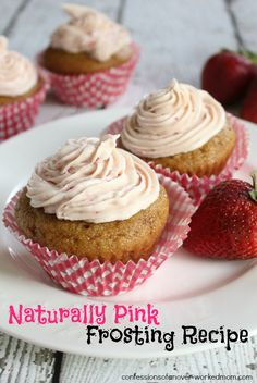 """Well it took me all afternoon but my """"Pink Lady"""" cupcakes with natural pink frosting are finally done. Who remembers the Pink Ladies from Grease? Watch it on @Netflix #StreamTeam #sponsored http://www.confessionsofanover-workedmom.com/2014/05/natural-pink-frosting-recipe.html"""
