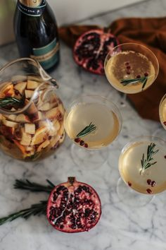 Chandon Sweet Star holiday sangria recipe | MILLENNIELLE Fashion & Lifestyle Blog