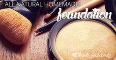 Fond de teint poudre libre ou compacte (avec arrow-root, cacao et épices)