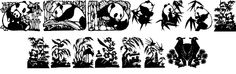 Image for Panda font