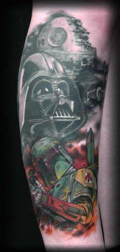Darth Vader Star Wars Tattoo