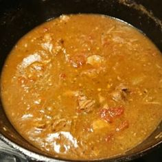 Tender chunks of pork are stewed together with roasted green chiles in this classic stew. Pork Green Chili Recipe Colorado, Green Chili Pork, Santiagos Green Chili Recipe, Green Chile Stew, Chilli Recipes, Mexican Food Recipes, Soup Recipes, Cooking Recipes, Verde Sauce