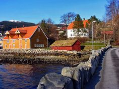 The old tannery of Volda, Norway