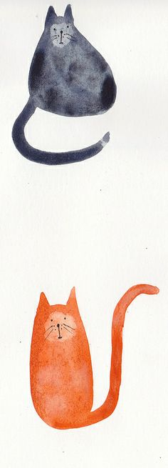 Cats - art by Carmie Araujo