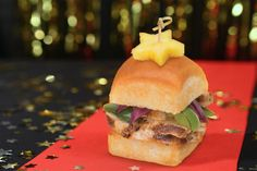 Make these show-stopping sliders the starring rolls of your Awards Show Party.