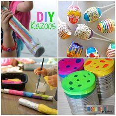 DIY Musical Instruments for Kids