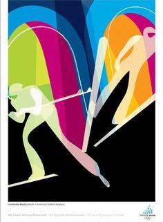 2006 Torino Winter Olympics Alternate Poster