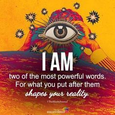 Positive affirmations all the way! What we think we become. words are powerful and the. Positive Vibes, Positive Quotes, Motivational Quotes, Inspirational Quotes, Positive Living, Mantra, The Words, Spiritual Awakening, Spiritual Quotes