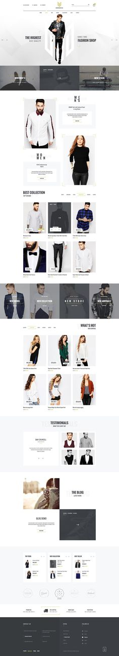 Ecommerce WordPress Themes - PRO Collection! #DESIGN