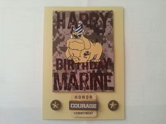 242 best my greeting cards images on pinterest greeting cards 240th marine corps birthday card m4hsunfo