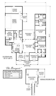 french creole house. french. home plan and house design ideas