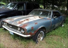 1967 Chevrolet Camaro SS- I really think this beauty needs some lovin'