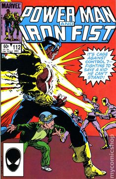 Power Man and Iron Fist Dec Marvel Comics. Will box larger orders. Iron Fist Comic, Iron Fist Marvel, Comic Book Characters, Marvel Characters, Comic Books, Defenders Comics, Misty Knight, Heroes For Hire