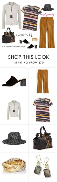"""""""...all good thoughts..."""" by musicfriend1 ❤ liked on Polyvore featuring River Island, J.Crew, FABIANA FILIPPI, Proenza Schouler, Dolce&Gabbana, Valentino, Sidney Garber and Ippolita"""