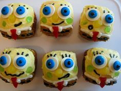 Spongebob.  #spongebob #cupcakes