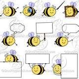 Bee Clip Art - Bing Imágenes