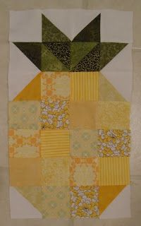 Summer Block Party: Candied Pineapple | Summer, Patterns and ... : pineapple quilt block pattern - Adamdwight.com