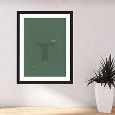 Unit A0050 in Boba-Green  #mazework #artwork #print #starwars #bobafett #interactiveart #maze http://ift.tt/20S89pu