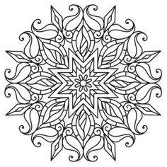 Mendhika Sunshine Medallion Mendhika (Design Pack) Urban Threads
