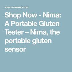 Shop Now - Nima: A Portable Gluten Tester – Nima, the portable gluten sensor