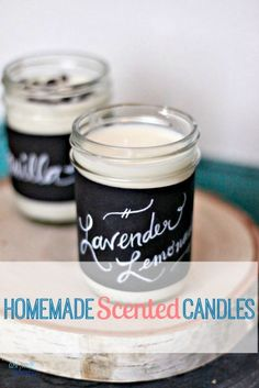 The best DIY projects & DIY ideas and tutorials: sewing, paper craft, DIY. Diy Crafts Ideas Tutorial for DIY Handmade Scented Soy Candles -Read Diy Soy Candles Scented, Homemade Candles, Homemade Gifts, Diy Gifts, Beeswax Candles, Diy Projects To Try, Craft Projects, Cadeau Parents, Do It Yourself Baby