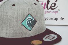 von der Stange war gestern...bei styleyourcap kannst du dir dein individuelles Cap gestalten! Snapback Cap, Baseball Hats, Fashion, Beanies, Embroidery, Moda, Baseball Caps, Fashion Styles, Snapback Hats