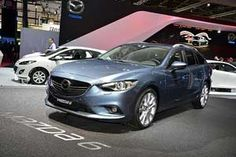 At the Paris Motor Show, a new-generation Mazda6. Besides the sedan, which made its first appearance at the Motor Show in Moscow in late August, had its world premiere a caravan version of the Mazda6. The front part of the Mazda6 caravan is identical to the saloon version, which was developed based on the concept of Tucker. Like the othe