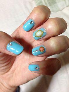 Moroccan design nails