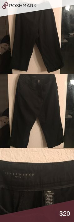 Apostrophe Capris Worn once. Lost weight. No longer fit. My loss, your gain. Make offer Apostrophe Pants Capris