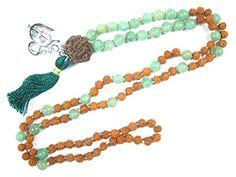 Rudraksha Green Jade Prayer Mala Spiritual Yoga Healing Japamala ~ 108+1, Om Pendant Mogul Interior http://www.amazon.com/dp/B00V04T5MO/ref=cm_sw_r_pi_dp_j7rVvb1GJKQDA