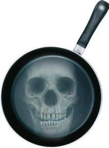 Get rid of your Poison non-stick Teflon pans, use Cast Iron instead Red Palm Oil, Non Stick Pan, Skeletons, Food For Thought, Cast Iron, Cookware, Rid, Veggies, Health Fitness
