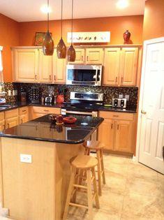 astounding orange kitchen decorating ideas | Decorating With Warm, Rich Colors | Color Ideas | Orange ...