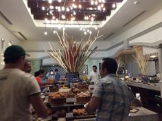 Breakfast buffet at Market Cafe