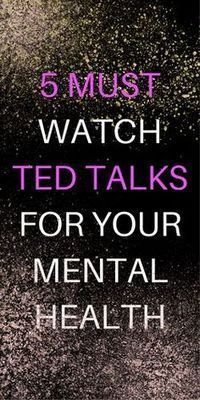 I have been obsessing over TED talks lately. Streaming them on TV while I clean the house is my new favorite way to multitask. Here are some great TED talks for your mental health. I hope you like them! This TED talk discusses embracing your depression Love Quotes For Him Boyfriend, Health Benefits, Health Tips, Health Care, Dental Health, Affirmations, Transformation Project, Mental Training, After Life