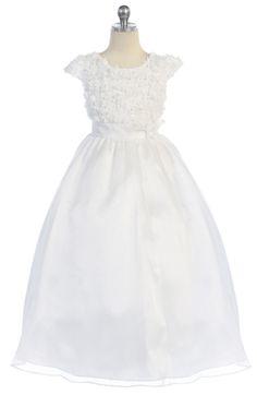 Henrietta Girls Dress - PuddlesCollection.com
