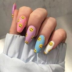 55 special summer nail designs for exceptional look best nails for spring 2019 14 - Nail Art Ideas - Edgy Nails, Aycrlic Nails, Funky Nails, Swag Nails, Emoji Nails, Coffin Nails, Stiletto Nails, Glitter Nails, Pointed Nails