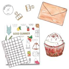 Good objects - A little bit of working and a little bit of painting Good Summer #goodobjects #watercolor #illustration