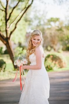 Budget Friendly DIY Wedding: http://www.StyleMePretty.com/little-black-book-blog/2014/03/19/budget-friendly-diy-scottsdale-country-club-wedding/ Photography: Justin & Keary Weddings on #SMP