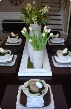 Stylish #Easter table.