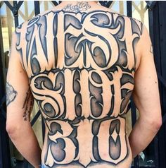 These incredible lettering tattoos will leave you speechless! #inked #lettering  ow.ly/YNDh4