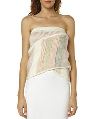 MAURIE & EVE AUDIO WRAP WOMENS TOP - MULTI