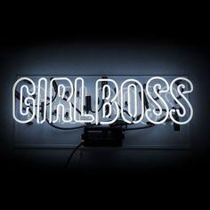 Girl Boss Neon Sign
