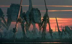 ArtStation - Imperial Spiders AT-ATs, Raphael Lacoste