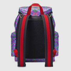 Gucci Multicolor brocade backpack Detail 3